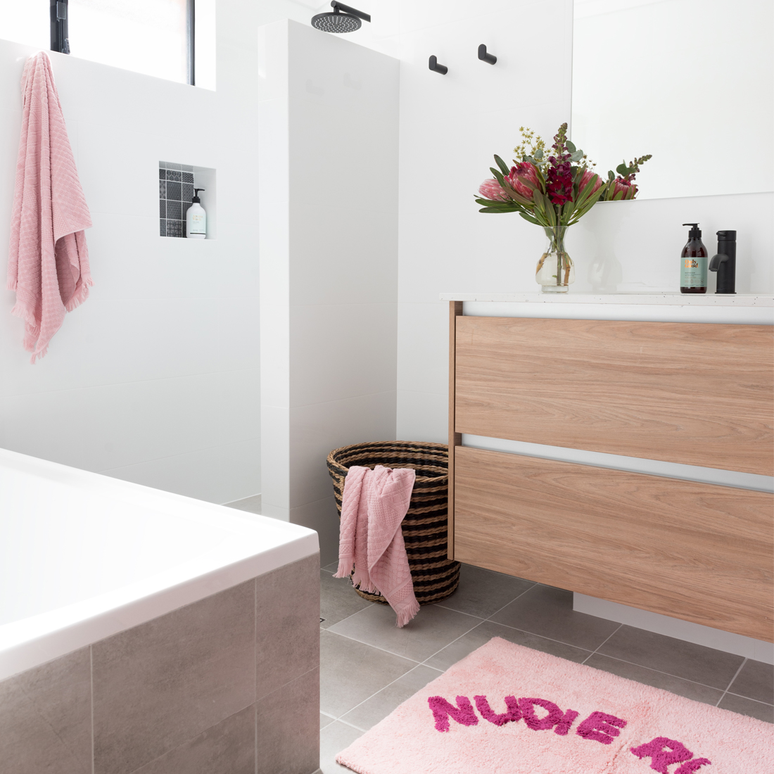 Duncraig Project: Family Bathroom